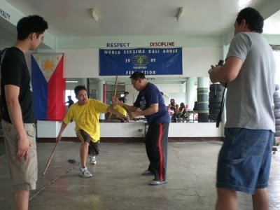 "Private training with SGM ""Diony"" Cañete"